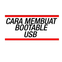 cara membuat bootable usb